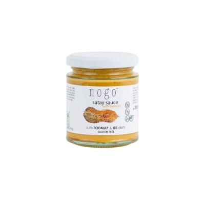 NOGO SATAY SAUCE WITH TURMERIC 190g