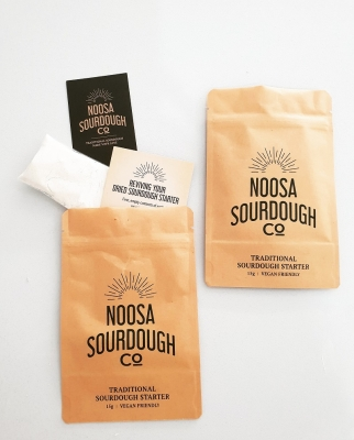 NOOSA SOURDOUGH - SOURDOUGH STARTER POUCH 15g