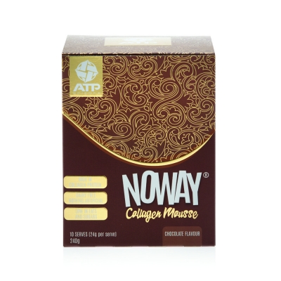 NOWAY COLLAGEN MOUSSE SACHETS - CHOCOLATE 22g