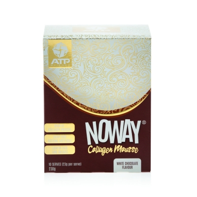 NOWAY COLLAGEN MOUSSE SACHETS - WHITE CHOCOLATE 22g