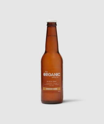 ORGANIC DRINK CO - GINGER BEER  330ml