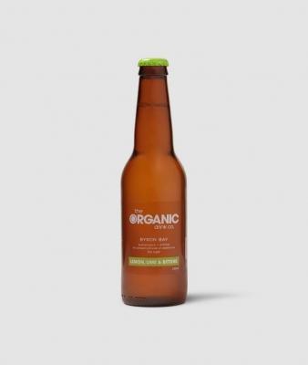 ORGANIC DRINK CO - LEMON LIME & BITTERS  330ml