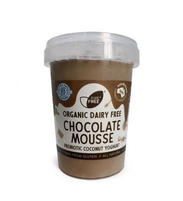 PURE COCONUT YOGHURT CHOCOLATE MOUSSE 200g