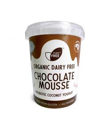 PURE COCONUT YOGHURT CHOCOLATE MOUSSE 500g