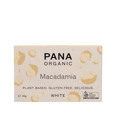 PANA ORGANIC - WHITE MACADAMIA 45g