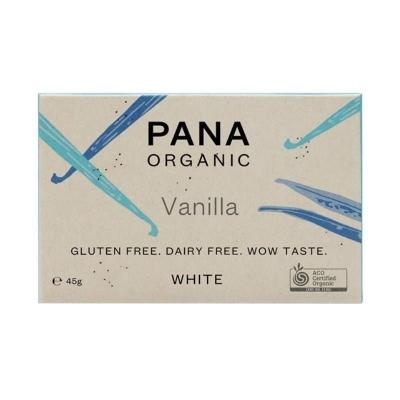 PANA ORGANIC WHITE - VANILLA CHOCOLATE 45g