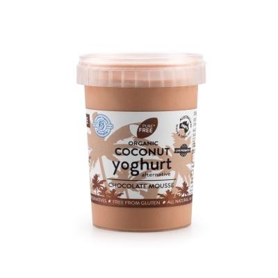 PURE COCONUT YOGHURT CHOCOLATE MOUSSE 200g