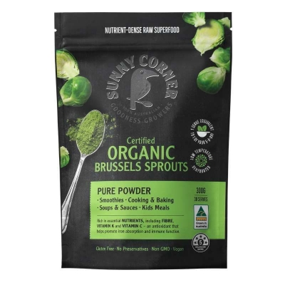 SUNNY CORNER FARMS BRUSSELS SPROUTS POWDER 150g