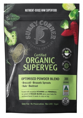 SUNNY CORNER FARMS SUPERVEG POWDER 300g