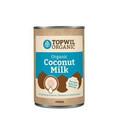 TOPWIL ORGANIC COCONUT MILK 400ml