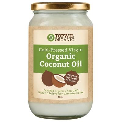 TOPWIL ORGANIC COCONUT OIL 1L