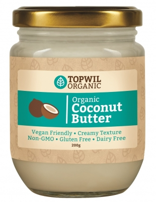 TOPWIL ORGANIC COCONUT BUTTER 200g