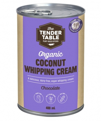 TOPWIL COCONUT WHIPPING CREAM CHOCOLATE 400ml