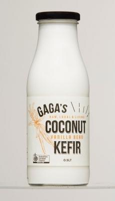 GAGAS VANILLA COCONUT MILK KEFIR 500ml