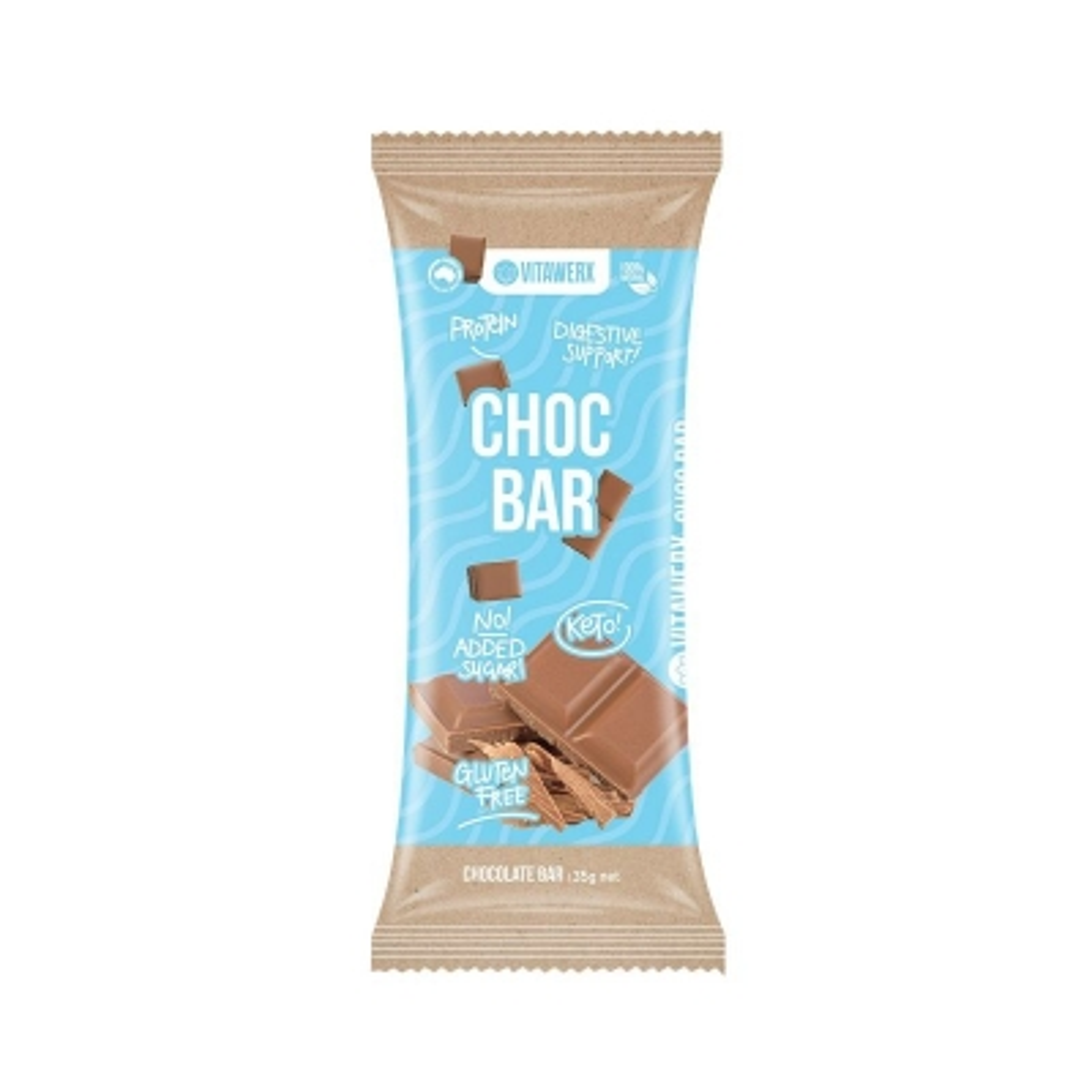 VITAWERX MILK CHOCOLATE BAR 35g